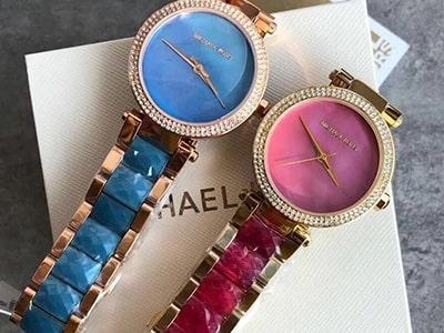 ساعت مچی زنانه بند رنگی