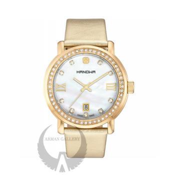 ساعت مچی زنانه هانوا مدل 16-6026.02.001