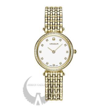 ساعت مچی زنانه هانوا مدل 16-7069.02.001