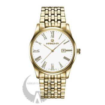 ساعت مچی مردانه / زنانه هانوا مدل 16-8066.02.001SET