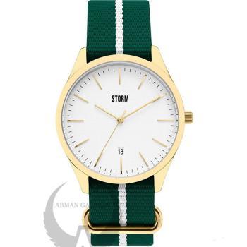 ساعت مچی مردانه استورم مدل ST47299/GD/W