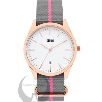 ساعت مچی مردانه استورم مدل ST47299/RG/W
