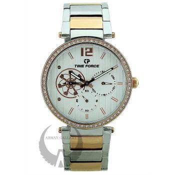 ساعت مچی زنانه تایم فورس مدل TFA7001LARS02M